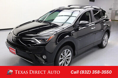 2016 Toyota RAV4 Limited Texas Direct Auto 2016 Limited Used 2.5L I4 16V Automatic FWD SUV