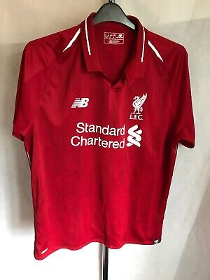 New Balance Liverpool Home Shirt 2018/19 Size XL