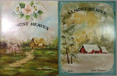 Almost Heaven 1 & 3 Tole Decorative Painting Book Country Elaine Thompson