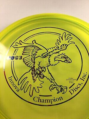 Big Bird Roc3 Champion Innova Disc Golf Flag Stamp OOP