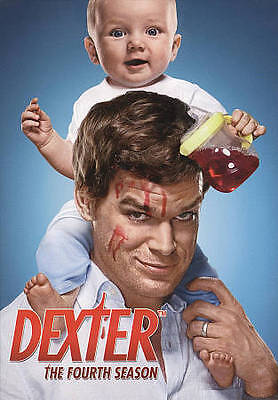 Dexter: SEASON 4 (DVD, 2010, 4-Disc Set) NEW