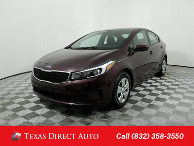 2018 KIA Forte LX Texas Direct Auto 2018 LX Used 2L I4 16V Automatic FWD Sedan