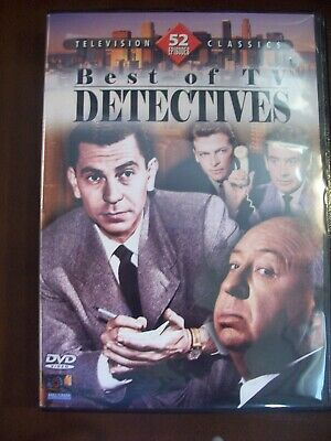 Television Classics Best of TV Detectives 52 episodes 4 discs