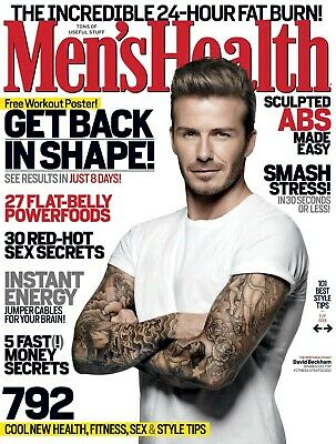 76fcf433745 MEN S HEALTH MAGAZINE 2 YEAR SUBSCRIPTION 20 ISSUES -  5.00