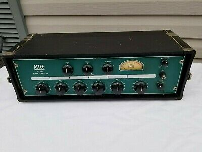 Altec Lansing 1567A Tube Mixer Amplifier S.n. 4300