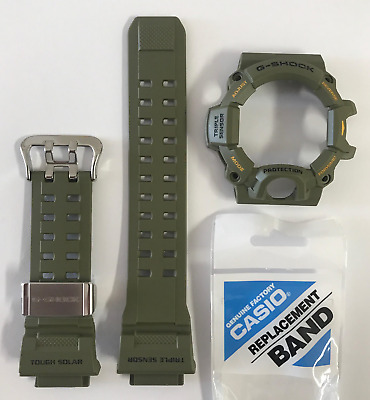CASIO Original G-SHOCK Band GW-9400-3 GW-9400 Green Strap