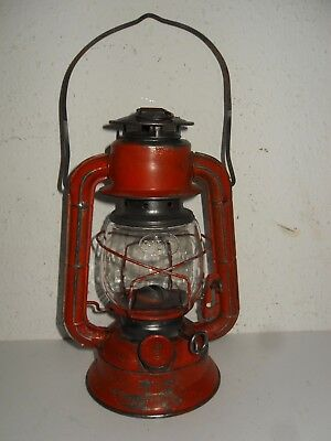 "Petroleum Lampe, Laterne,  "" DIETZ No 50 ""  Made in HONGKONG"