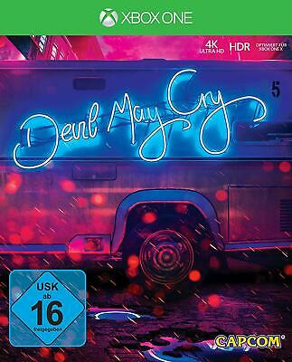 Devil May Cry 5 Deluxe Edition - Xbox One CD  Deluxe Code unbenutzt Steelbook 4k