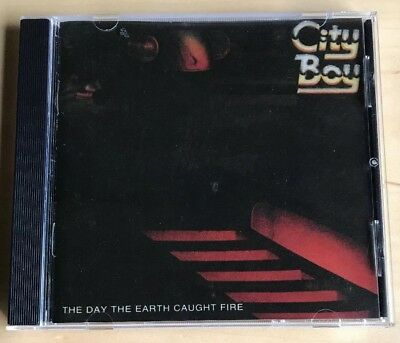 CITY BOY THE DAY THE EARTH CAUGHT FIRE CD VG Mutt Lange