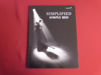 Simply Red - Simplified . Songbook Notenbuch Piano Vocal Guitar PVG