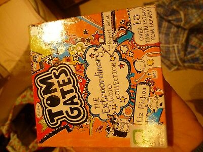Tom Gates CD book collection - includes Genius Ideas, Everything's Amazing etc