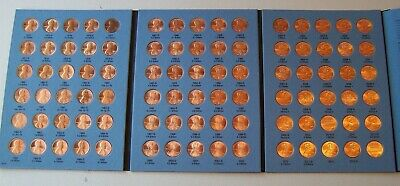 1975-2013 Uncirculated Lincoln Cent Set Collection - Complete in Whitman Folder