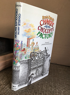 Vintage 1973 Charlie and the Chocolate Factory HARDCOVER BOOK Roald Dahl HC/DJ