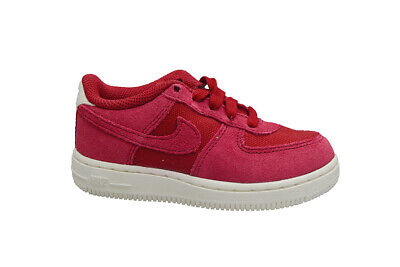 Infants Nike Air Force 1 Suede (TD) - AR0267600 - Red White