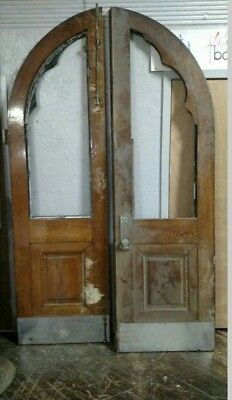 Antique Double opening Church Doors Arched