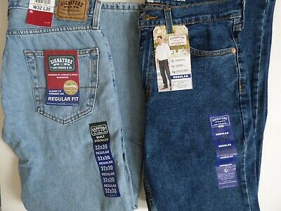 Signature by Levi Strauss & Co. Gold Label Men's Regular Fit Jeans - All Sizes