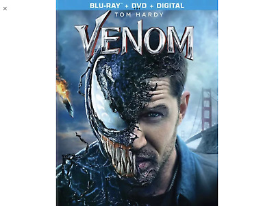 Venom(Blu-Ray+Dvd+Digital)New Factory Sealed