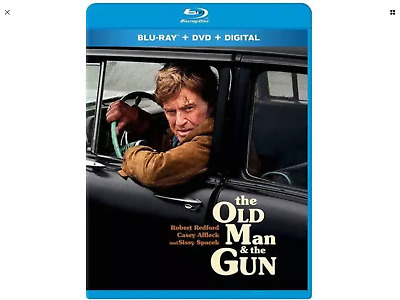 THE OLD MAN AND THE GUN / (DTS WS) Blu-Ray/DVD/Digital BRAND NEW