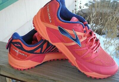 282cc5d1135 Brooks Cascadia 10 Womens Trail Running Shoes 8.5 B (Sneakers) Orange Pink  NEW