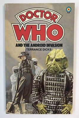 TV tie-in pb DOCTOR WHO AND THE ANDROID INVASION (#2) [UK 1978] Terrance Dicks