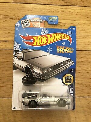 2015 Hot Wheels Back To The Future Time Machine Hover Mode DeLorean