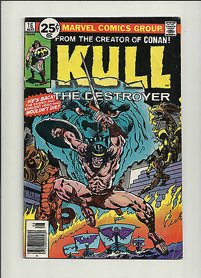 Kull The Conqueror  #16  VG/FN