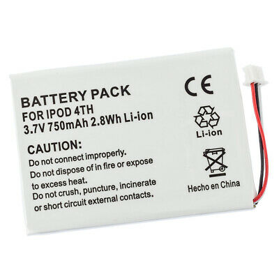 Battery for Apple iPod 4th 4 Gen M9282TA/A M9585ZV/A 616-0206 AW4701218074 M9268