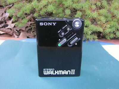 Vintage Collectible Black SONY Walkman-2 WMII Personal Stereo Cassette Player