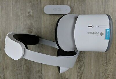 Lenovo Mirage Solo with Daydream Virtual Reality Headset - Moonlight White VR