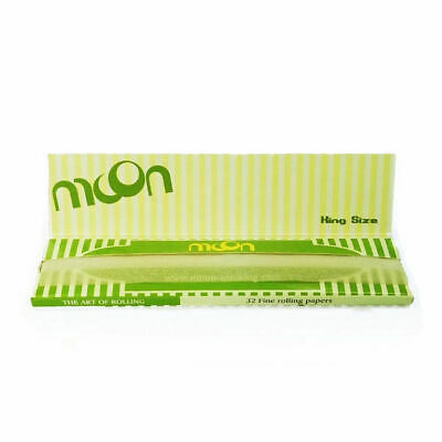 Moon Hemp Cigarette Rolling Papers King Size Slim x 1 Book