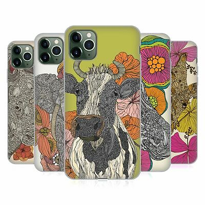 OFFICIAL VALENTINA ANIMALS AND FLORAL SOFT GEL CASE FOR APPLE iPHONE PHONES