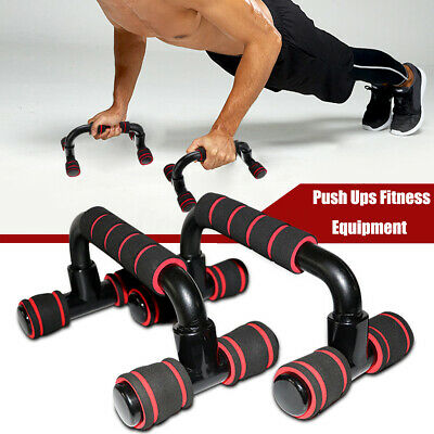 Push Up Frame Handle Home Gym Fitness Equipment Body Chest Muscle Training  !