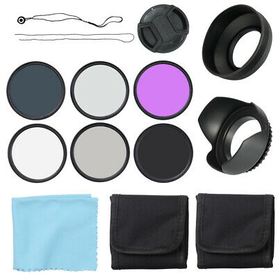 Professional Vivitar UV CPL FLD Lens Filters Kit and Altura Photo ND G2A5