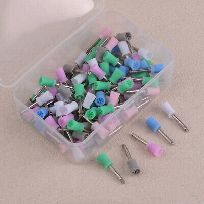 100pcs Disposable Dental Latch Polishing Polisher Prophy Cup Fit For Handpiece
