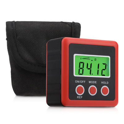 Digital LCD Protractor / Angle Gauge Inclinometer Finder Bevel Level Meter [US]