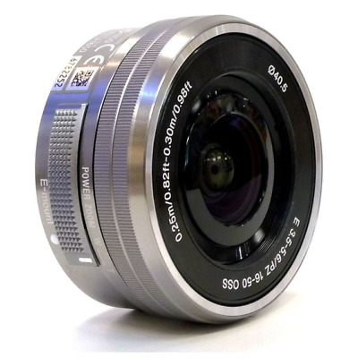 Brand New Original Sony E PZ 16-50mm f/3.5-5.6 OSS Silver  Lens UK