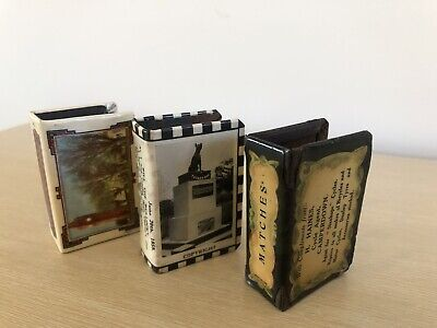 Vintage Matchbox Holders Collectable