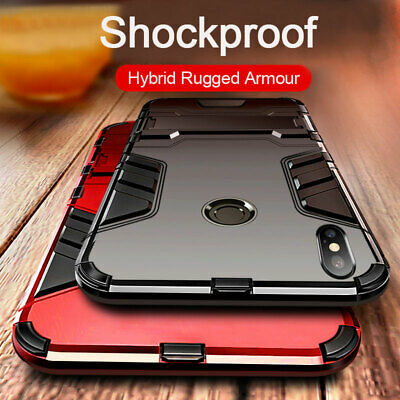 For Xiaomi Mi 9 SE A2 A3 Lite Mix 3 F1 Hybrid Armour Stand Shockproof Case Cover