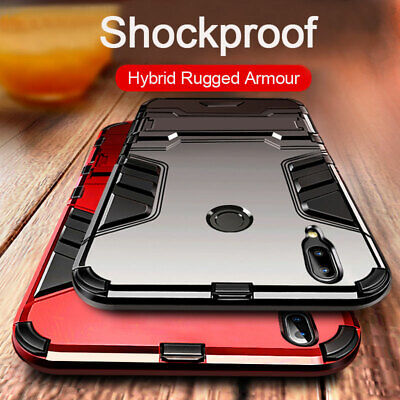 For Xiaomi Redmi Note 7 8 Pro 7A 5 Plus S2 Hybrid Armour Shockproof Case Cover