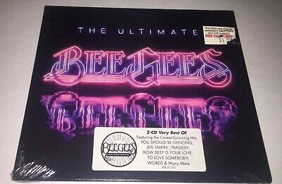 New sealed Bee Gees Ultimate 2 Disc Best Of Greatest Hits