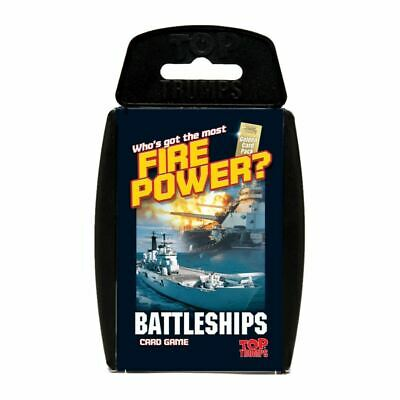 Top Trumps Educational Fun Card Game - BATTLESHIPS
