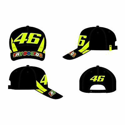 VR46 Valentino Rossi 46 The Doctor Adjustable Cap - Race Black