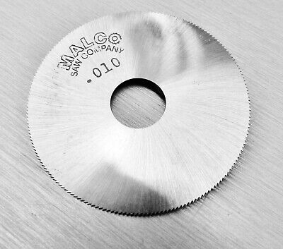 "Malco Saw Blade Jewelers Slotting Saws 2"" High Speed Circular Saw Blades 0.010"""