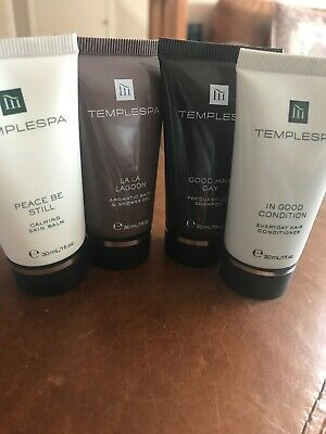 Temple Spa Travel Products X 4 30ml