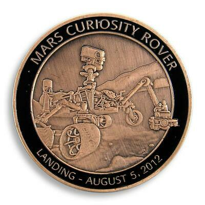 Planet, Mars Curiosity Rover,  Space Exploration, NASA, Technology, Сopper Medal