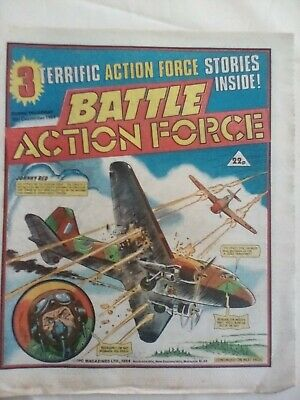 BATTLE ACTION FORCE COMIC - 15 Dec 1984 - VERY GOOD CONDITION -CHARLEY'S WAR