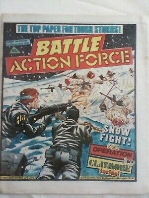 BATTLE ACTION FORCE COMIC - 1 Dec 1984 - VERY GOOD CONDITION -CHARLEY'S WAR