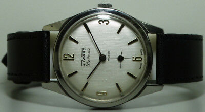 Vintage Duward Diplomatic Winding Swiss Made Wrist Watch k49 Old Antique Used