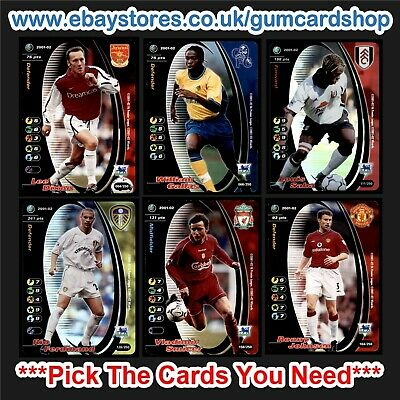 Wizards of the Coast 2001/2002 English Football (100-199) *Please Choose Cards*