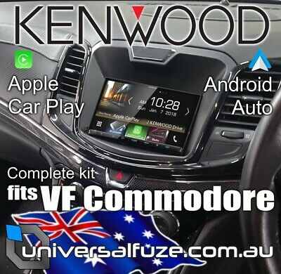 KENWOOD APPLE CAR Play Android Auto kit for Holden VF Commodore [Kit  options: Ke